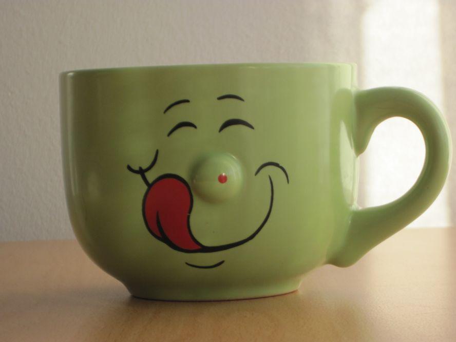 Веселые чашки картинки