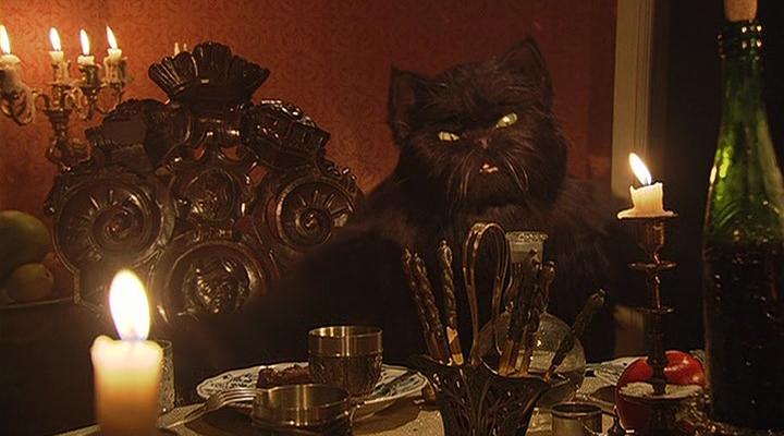 Картинки мастер и маргарита кот бегемот