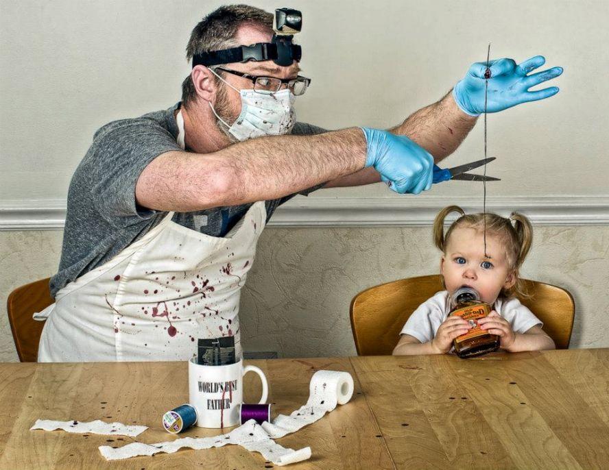 Открытка красивые, прикольные картинки про отцов