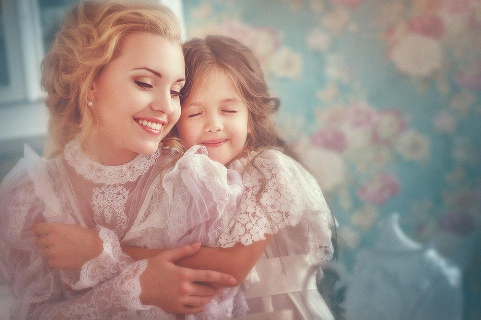 Фото мамы с дочкой открытки, поздравление днем работника
