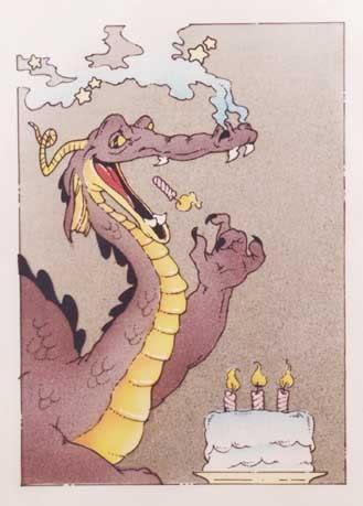 Дракон с днем рождения открытки фото, понедельником картинки прикольные