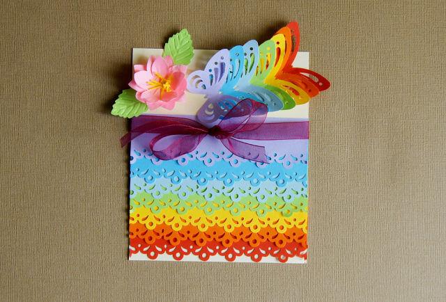 Как можно украсить открытку бабушке на день рождения своими руками