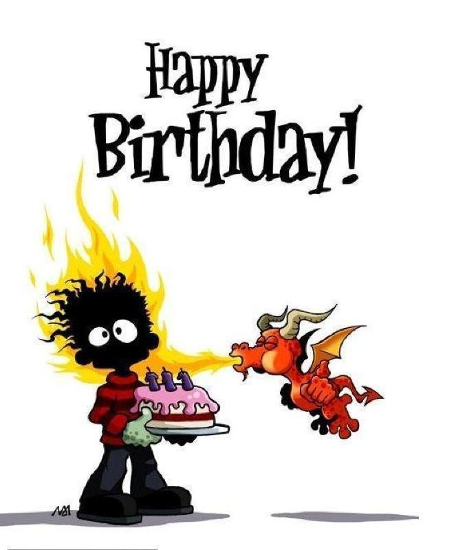Поздравление с днем рождения подруге неформалке
