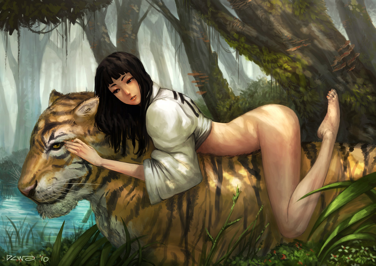 Your virginity nude woman and tiger sex doing