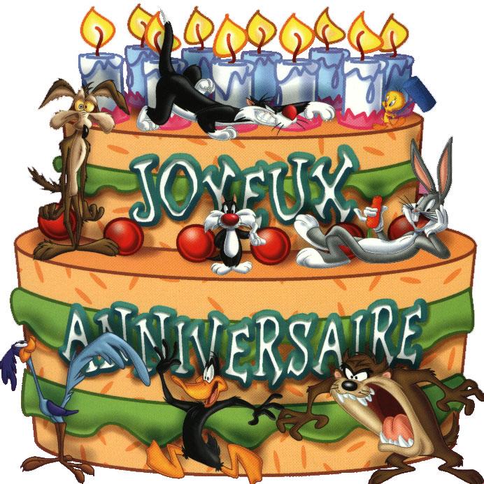Своими руками, открытка день рождения на французском