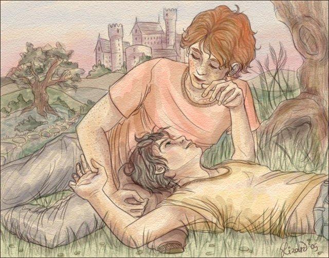 гермиона занимается сексом с роном уизли