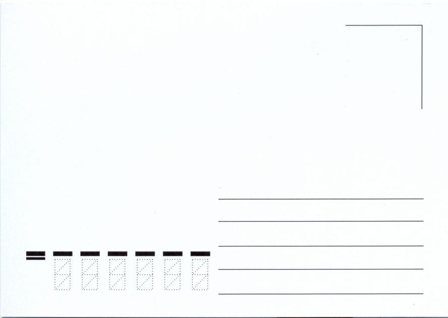 Почтовая открытка печатать