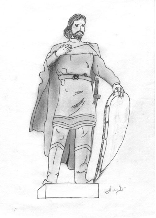 Картинки князя владимира для срисовки
