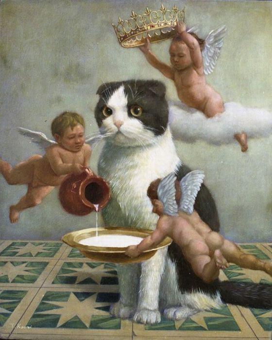 Смешные картинки он бог