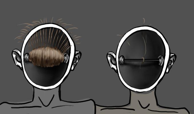Пустая голова картинка