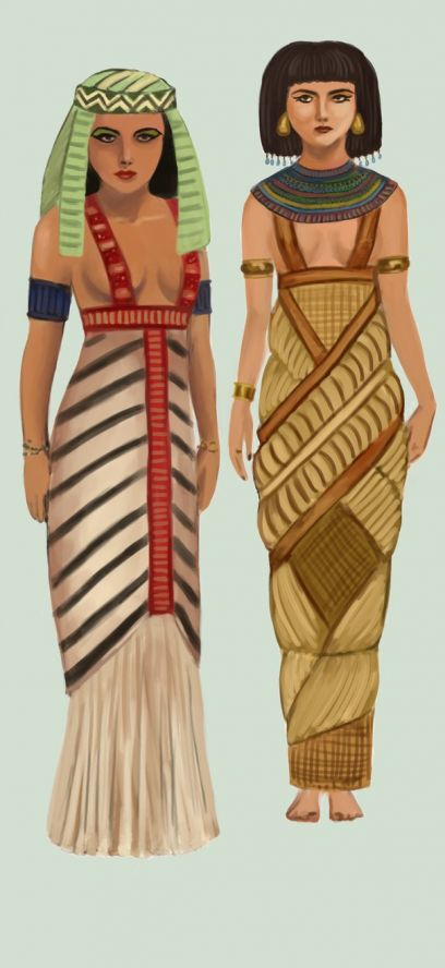 древний египет костюм с картинками музыкальных инструментов народе