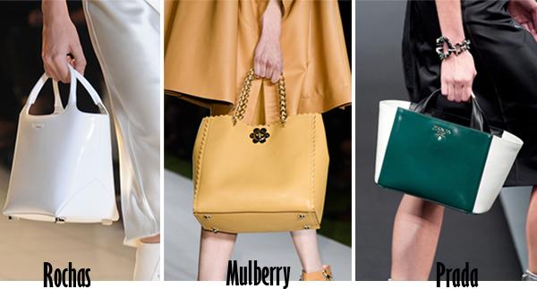 c903c152761b691 В грядущем сезоне весна-лето 2014 сумки четких геометрически форм.  Трапеция, саквояж, сумки-конверты. На модных показах трудно было заметить  сумки, ...