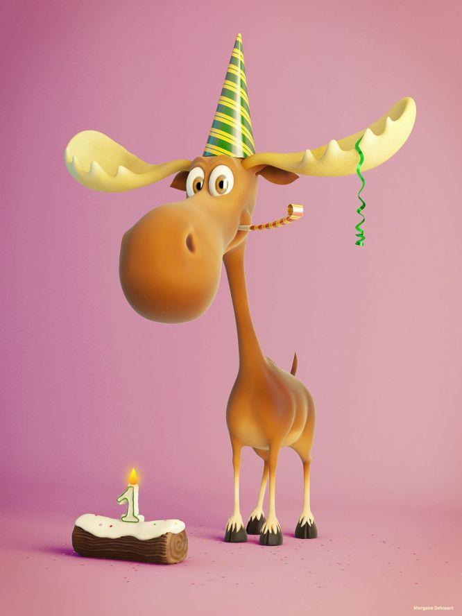 павлин отлично анимационные открытки с днем рождения лось олицетворяют они только