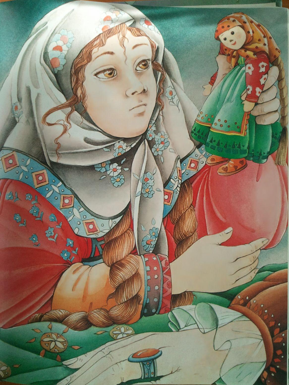 русские сказки в картинках василиса