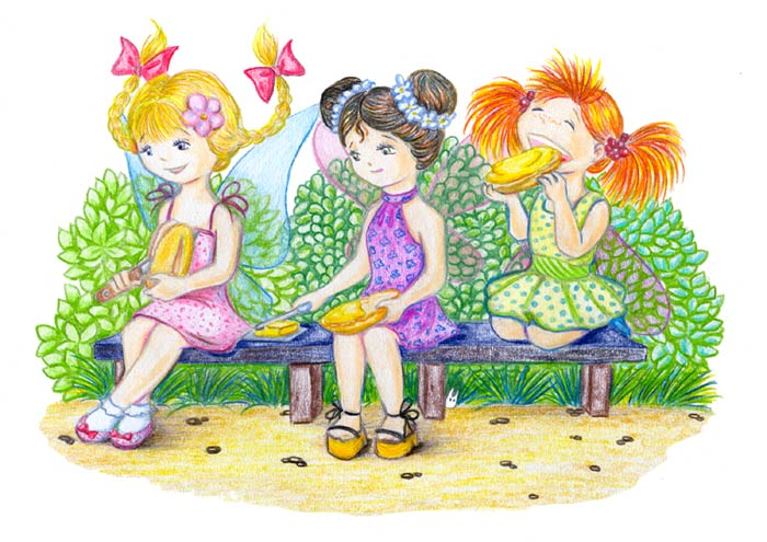 Картинки девочки подружки для детей, картинки