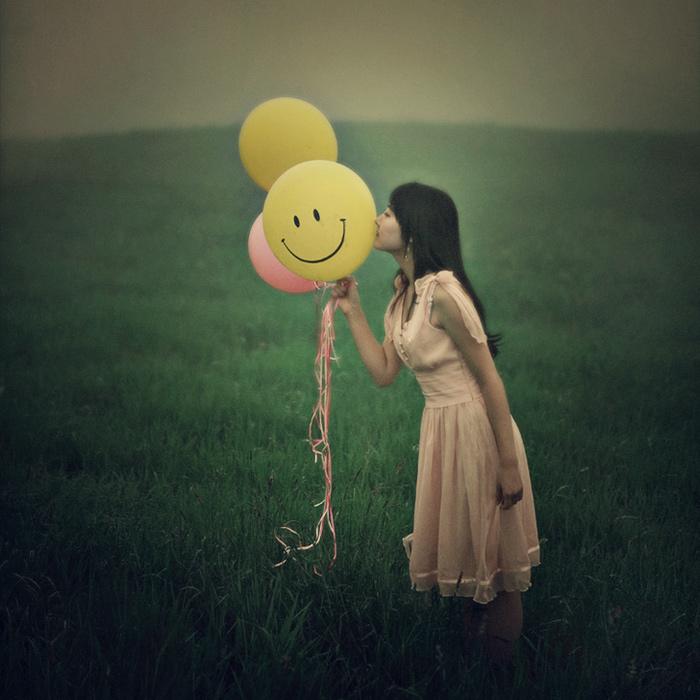 Поздравительной, прикольные картинки о счастье женщины