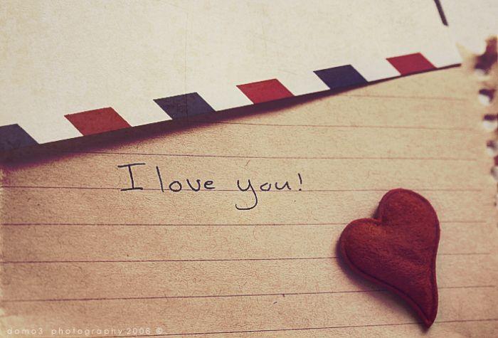 Картинка письмо любимому
