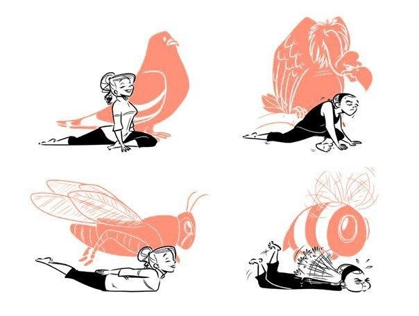 веселые картинки стретчинг