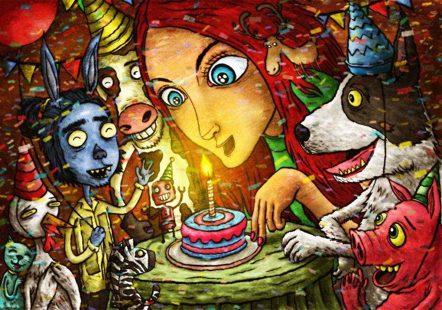 психоделическое поздравление с днем рождения сожалению