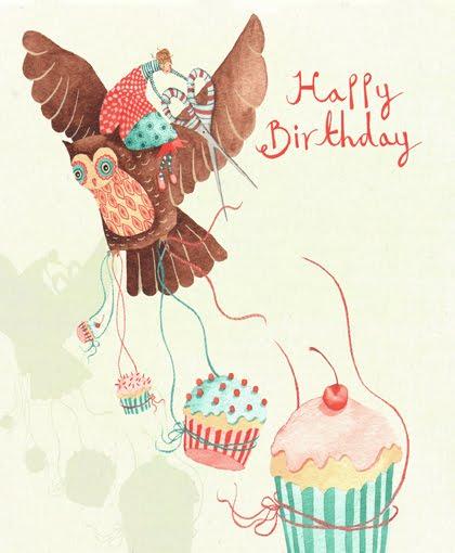 Стихи, открытка с днем рождения в иллюстраторе
